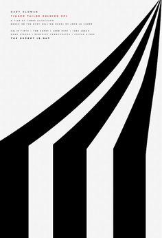 zirkus zelt poster w/ stripes