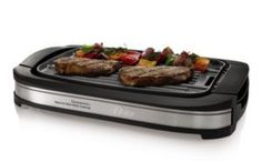 This Oster CKSTGR3007-ECO DuraCeramic Reversible Grill and Griddle has innovative Dura Ceramic nonstick coating. This coating is durable because it won't flake or peel and is expected to last four times longer than other, which is actually worth your money. This model gives you the option of griddle and grill with the reversible plates.