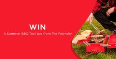 ENDS 31-AUG-2016  --  #Win a Summer BBQ Toolbox from The Fowndry
