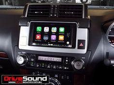 Toyota Prado Kakadu with Apple CarPlay installed by DriveSound.