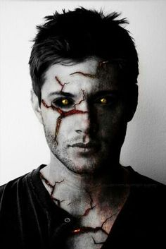 Demon Dean by Squidni ~ Not gonna lie, this freaks me out... AWESOME…