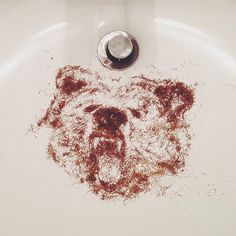 said goodbye to the bear on my face #beardhairbear #stubblesketch | Flickr - Photo Sharing!