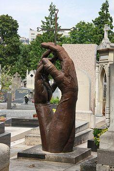 Gravestone in Montparnasse Cemetery