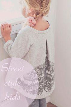 Un post cargado de street style kids, para los pequeños fashionistas.
