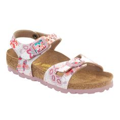 1dc16311aea4 Birkenstock Rio in Cute Flowers Rose Pink