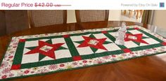 ON SALE NOW Handmade Quilted Christmas Stars by ColoradoQuilts