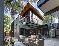 Midvale Courtyard House contemporary patio