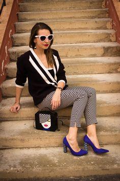 Monochrome Black and White Outfit Look Street style монохромное сочетание монохром чёрный белый mood