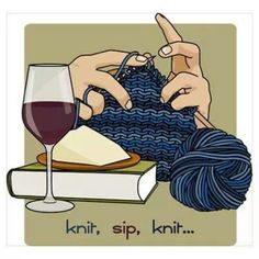 Knitting is a form of therapy!! :)