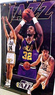 Basketball Posters, Nba Basketball, Sports Posters, Jeff Hornacek, John Stockton, Karl Malone, Utah Jazz, Selling On Ebay, Digital Camera