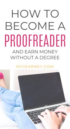 Do you love spotting and correcting grammatical errors? Then proofreading is for you! If you want to make money online and work from home, this side hustle is a great way to put those skills to work and earn extra income. Whether you have a degree or not, there is an opportunity for you to make money just for reading! Personal Finance | Work from Anywhere | WAHM