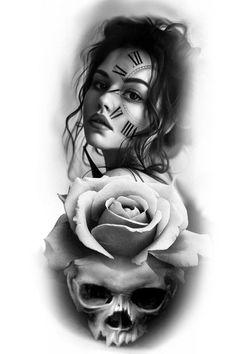 Mais de 100 Desenhos para Tatuagens Realistas | Tatuagens - Ideias