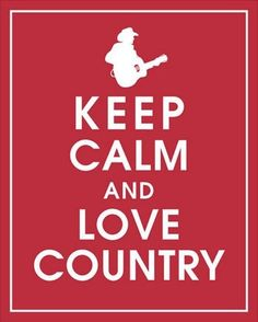 :) Just a little country music addiction ...