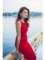 RED DRAPED DREAM - Rhea Costa-Shop Little Red Dress, Costa, Feminine, Elegant, Formal Dresses, Shopping, Design, Fashion, Women's