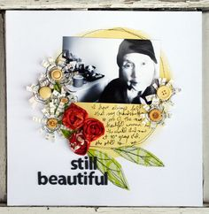 JUlie Fei Fan Balzer- love this beautiful design and those stitched flowers!