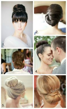 Beautiful Wedding Hair Ideas, not only for the Bride!
