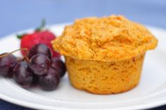 carrot muffins:  these are delish!   i didn't have ww flour, so i used white.  i didn't have enough honey, so i used sugar (cut down to 1/2 cup).  i used coconut oil & it was hard to 'cream', but seems to have worked fine anyway...  i also added orange zest.  recipe yielded 12 regular-size muffins & 18 mini muffins :)