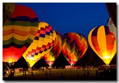 Howell, Michigan Balloon Festival. I've been there but next year I want to take the boys :)