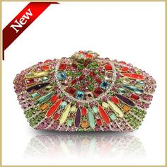 Japanese- Style Fashionable Brand Colorful Rhinestone Evening Bag Hand Bag Banquet Beautiful New Flowers Online with $150.83/Piece on Df518's Store | DHgate.com