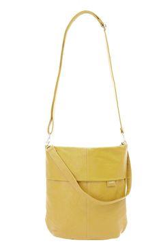 Frauentaschen :: MADEMOISELLE :: M12 | ZWEI Taschen Handtasche :: gelb :: lederfrei