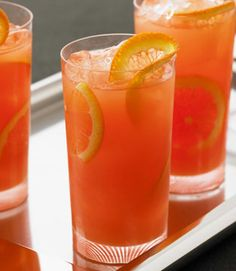 ClemenGold Campari Gin & Tonic #clemengold #gathering #lecreuset