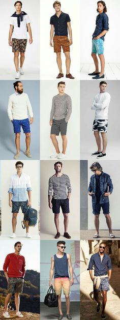 Wearing shorts is one of menswear's most notorious booby traps but there are ways to bare your legs and look stylish. Here's the definitive guide to key shorts styles, how each of them should fit, and the best men's shorts you can buy today Casual Wear, Casual Outfits, Summer Outfits, Men Casual, Look Fashion, Fashion Outfits, Mens Fashion, Moda Men, Teen Boy Fashion