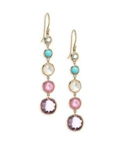 Lollipop Lollitini 18-karat Gold Multi-stone Earrings - one size Ippolita Vn7rG041i