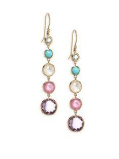 Lollipop Lollitini 18-karat Gold Multi-stone Earrings - one size Ippolita 7zfaf0AM