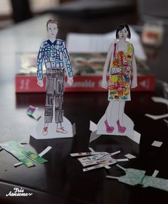 The Selby Paper Dolls from The Fashionable Selby