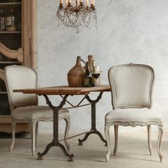 Eloquence Colette Beach House Natural Dining Chair @Layla Grayce