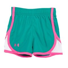 under armour shorts for girls. under armour® infant girl heatgear® logo athletic short armour shorts for girls p