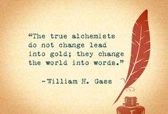 william h. gass quote
