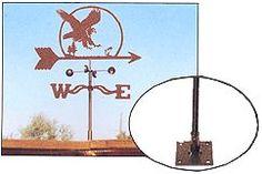 EZ Weathervane Deck Rail Mount