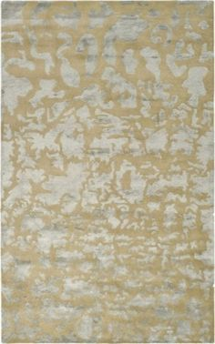 Gold and Silver Modern...  This is a great way to mix gold and silver elements in a room — a rug in both colors. more »  $265.00   Inside Avenue