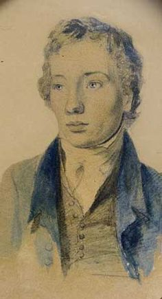 Painting of Tom Keats, the younger brother of John Keats, from whom John Keats got tuberculosis while caring for him. English Romantic, Romantic Period, Charles Brown, Hampstead Heath, Music Do, John Keats, Love Deeply, October 31, Shelf Life