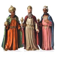 Reyes Magos para belén de 12 cm 3 figuras Nativity Costumes, Christmas Costumes, Les Trois Rois Mages, Holy Art, We Three Kings, Christmas Nativity Scene, Three Wise Men, Statues, New Year Celebration