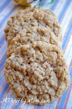 Coconut oatmeal cookies. yummy
