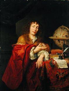 Фердинанд Боль (1616–1680) или Готфрид Кнеллер (1646–1723) или Юрген Овенс (1623–1678) Portrait of a Young Scholar of the Kerckring Family, formerly also known as Theodor Kerckring (около 1660, Гамбургский кунстхалле)