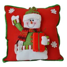 Handmade Decorative Holiday Pillow