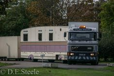 ERF and showman's trailer