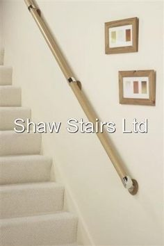 Best Details About Stairs Wall Mounted Handrail Full Kit In 400 x 300