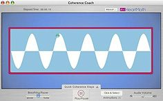 The Coherence Coach is an entertaining, interactive software application that teaches HeartMath's scientifically validated Quick Coherence technique for relieving stress and increasing performance. Learn step-by-step instructions through narration, five colorful animations, music and an adjustable breathing pacer.