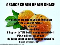 How do I Get Started Buying Essential Oils Wholesale? Weight loss Orange Cream Dream Smoothie with doTERRA Slim and Trim Powder. Use with Slim and Sassy Essential Oil to bring out the Sassy and Slim you! Cooking With Essential Oils, Doterra Essential Oils, Pure Essential, Doterra Slim And Sassy, Essential Oils Wholesale, Wild Orange Essential Oil, Doterra Recipes, Oregano Oil, Weight Loss Water