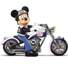 ~ CREATE A CARD ~ Mickey Mouse on a motorcycle