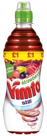 Vimto to launch limited edition Strawberry Still drink