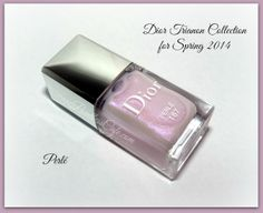 Dior Bloom Bouquet 457 and Perlé 187 - from the Dior Trianon Collection for Spring 2014 Nail Color Combos, Nail Colors, Spring 2014, Spring Break, Dior Nail Polish, Neiman Marcus, Swatch, Bouquet, Bloom