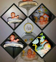 +OOAK+DiY+Decoration+Shower+Welcome+Home+Newborn++#Handmade+#Traditional