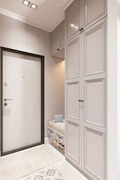 Bedroom Closet Design, Home Room Design, Home Decor Bedroom, Living Room Designs, House Design, Apartment Entrance, Home Entrance Decor, House Entrance, Modern Classic Bathrooms