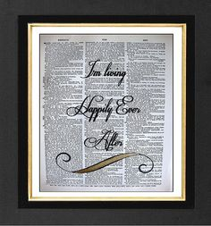 Hey, I found this really awesome Etsy listing at https://www.etsy.com/listing/101099781/happily-ever-after-original-artwork