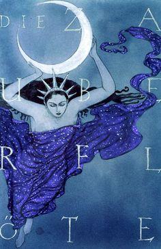 """Die Zauberflote"" (The Magic Flute) poster by John Martinez"